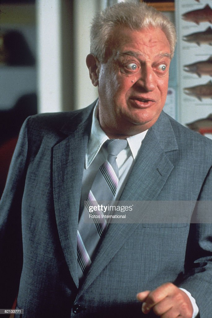 American actor and comedian Rodney Dangerfield (1921 - 2004) in a scene from 'Ladybugs', directed by Sidney J. Furie, 1992.
