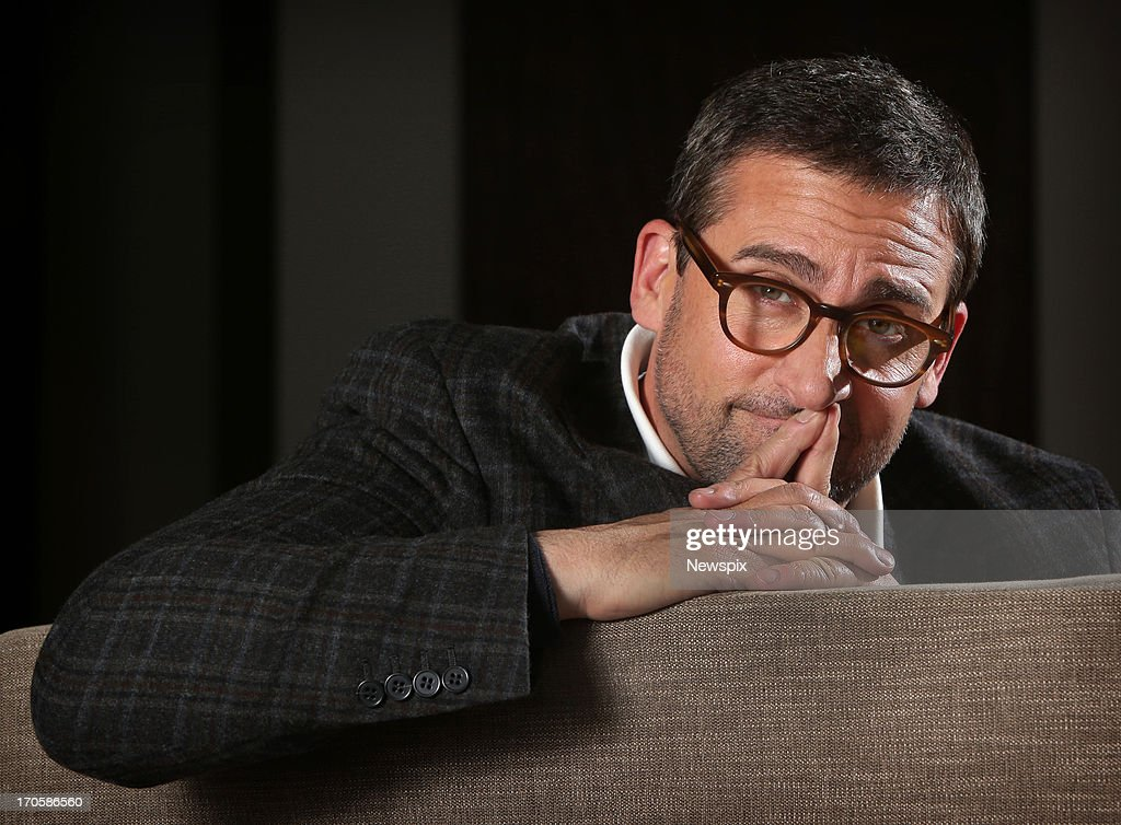 American actor and comedian <a gi-track='captionPersonalityLinkClicked' href=/galleries/search?phrase=Steve+Carell&family=editorial&specificpeople=595491 ng-click='$event.stopPropagation()'>Steve Carell</a> poses during a photo shoot at the Park Hyatt Hotel on June 6, 2013 in Sydney, Australia. Carell is in Australia for the premiere of his new film 'Despicable Me 2'.