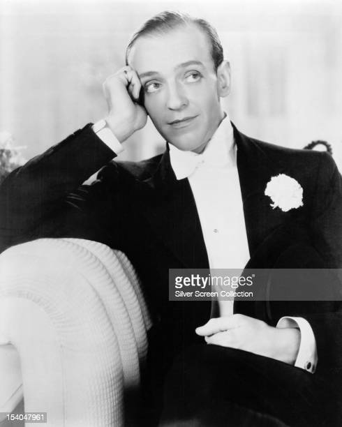 American actor and dancer Fred Astaire circa 1935