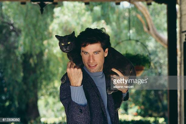 American actor and dancer John Travolta
