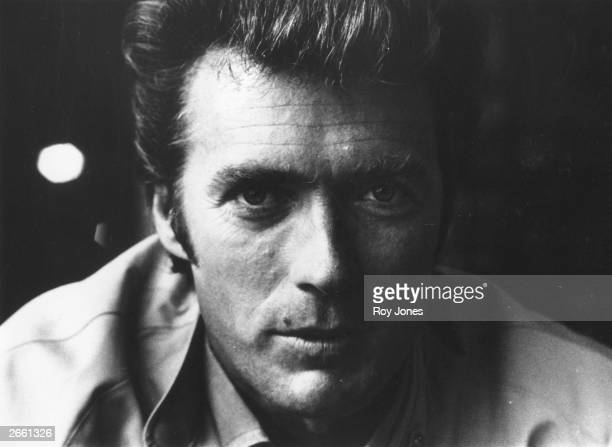 American actor and director Clint Eastwood