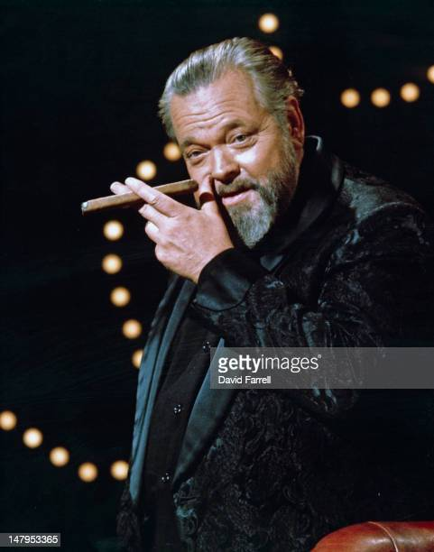 American actor and director Orson Welles circa 1968