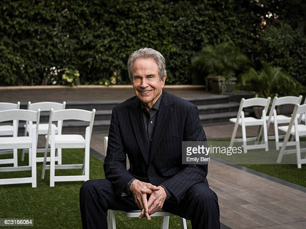 American actor and filmmaker Warren Beatty is photographed for New York Times on October 6 2016 in Los Angeles California