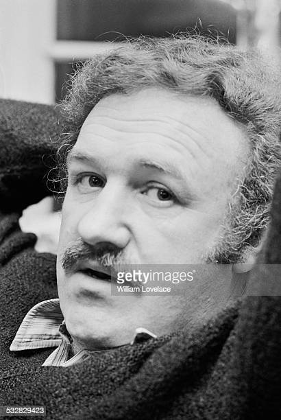 American actor and novelist Gene Hackman 16th January 1972