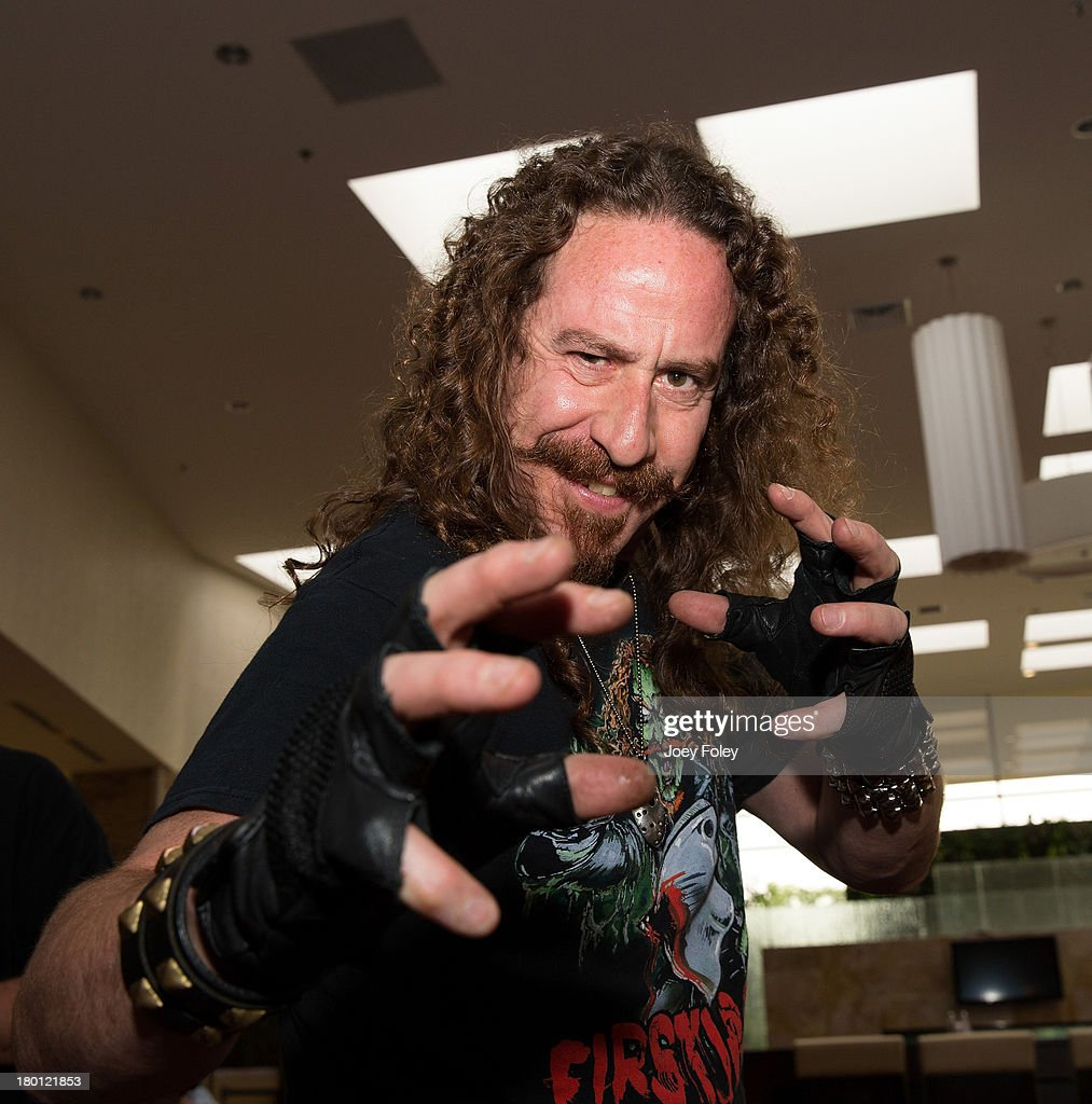 American actor and performing artist Ari Lehman poses for a photo at Marriott Indianapolis on September 8, 2013 in Indianapolis, Indiana.