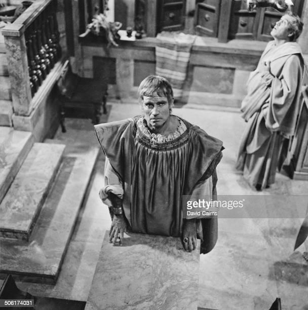American actor and political activist Charlton Heston as Marc Antony in Stuart Burge's 1970 historical drama 'Julius Caesar' 12th June 1969