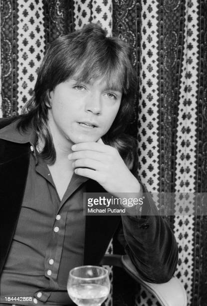American actor and pop singer David Cassidy 12th October 1973