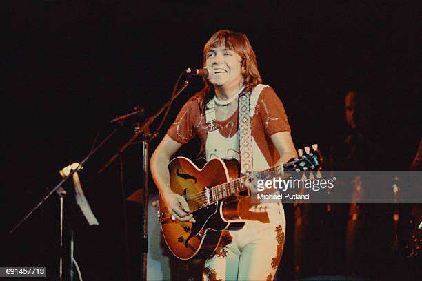 American actor and pop singer David Cassidy performing on a European tour 12th October 1973