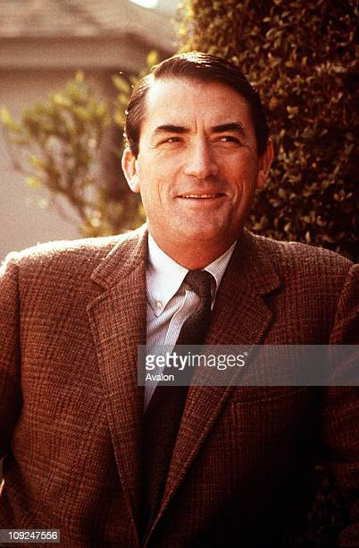 American Actor and Producer Gregory Peck