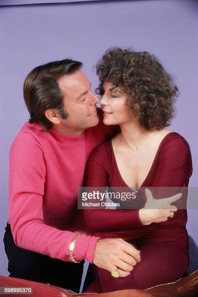 American actor and producer Robert Wagner and his wife actress Natalie Wood