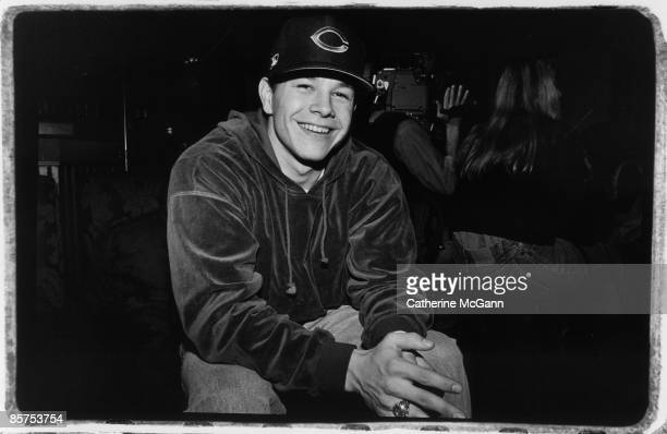 American actor and rapper Mark Wahlberg poses for a photo at a party at the Limelight nightclub in February 1992 in New York City New York