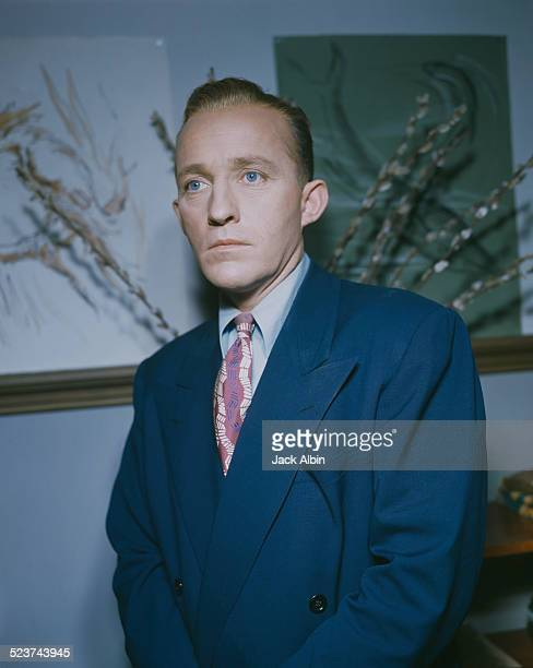 American actor and singer Bing Crosby circa 1955
