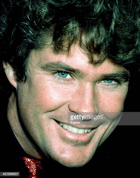 American actor and singer David Hasselhoff in Hollywood California circa 1990