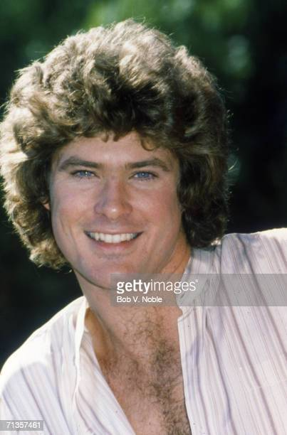 American actor and singer David Hasselhoff who plays William 'Snapper' Foster Jr in the television series 'The Young And The Restless' late 1970s