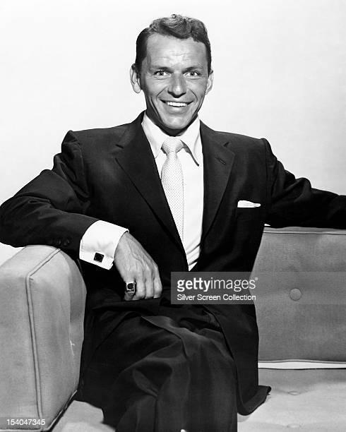 American actor and singer Frank Sinatra circa 1950