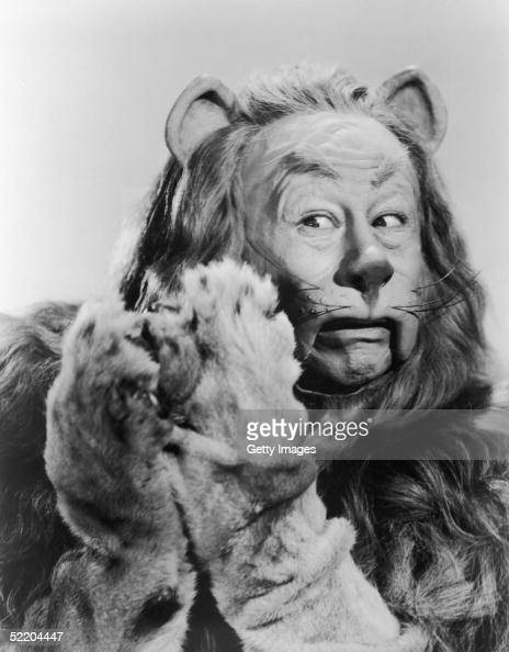 American actor Bert Lahr as the Cowardly Lion in Victor Fleming's 1939 film 'The Wizard of Oz' The Cowardly Lion wanted to see the Wizard so he could...