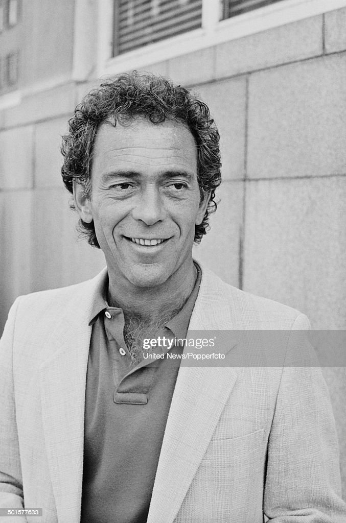 American actor Bruce Weitz posed in London on 30th May 1985