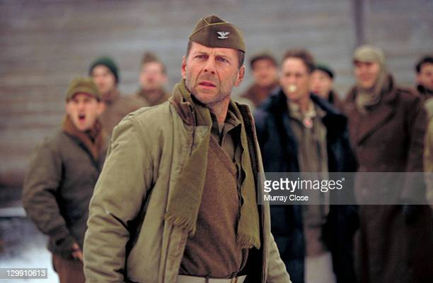 American actor Bruce Willis as Colonel William McNamara in a scene from the film 'Hart's War' 2002