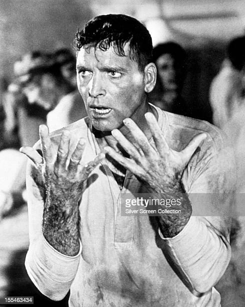 American actor Burt Lancaster as Robert Franklin Stroud in 'The Birdman Of Alcatraz' directed by John Frankenheimer 1962