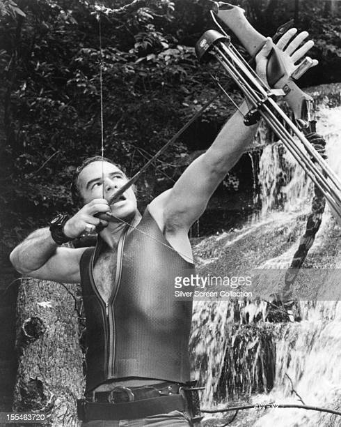 American actor Burt Reynolds as Lewis in 'Deliverance' directed by directed by John Boorman 1972