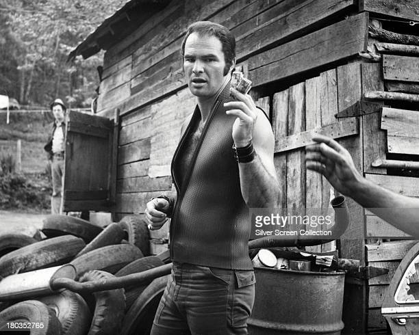 American actor Burt Reynolds as Lewis in 'Deliverance' directed by John Boorman 1972