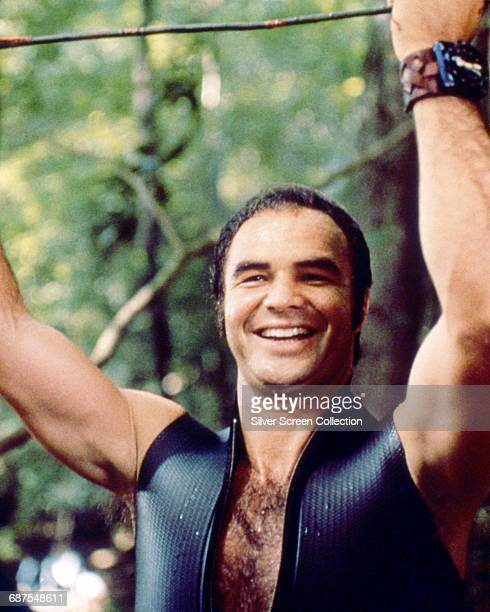 American actor Burt Reynolds as Lewis in the film 'Deliverance' 1972