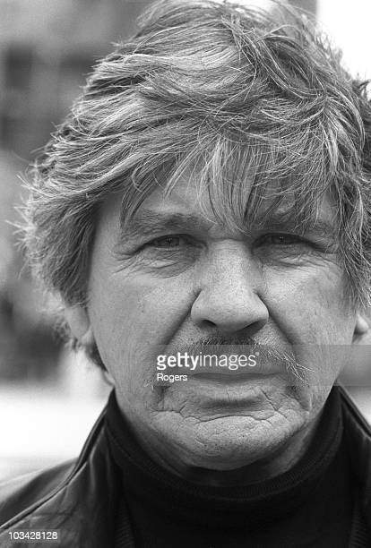 American actor Charles Bronson on the set of Death Wish 3 in London England on May 25 1985