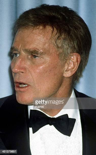 American actor Charlton Heston circa 1990