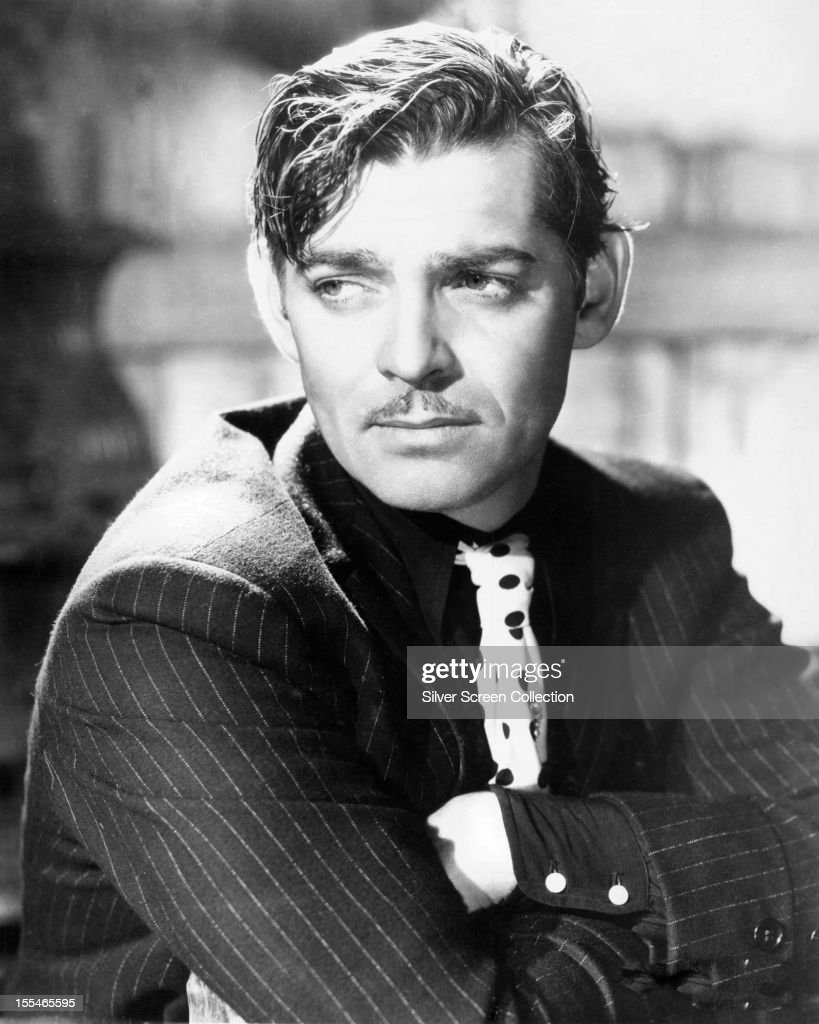 American actor <a gi-track='captionPersonalityLinkClicked' href=/galleries/search?phrase=Clark+Gable&family=editorial&specificpeople=70015 ng-click='$event.stopPropagation()'>Clark Gable</a> (1901 - 1960), circa 1935.