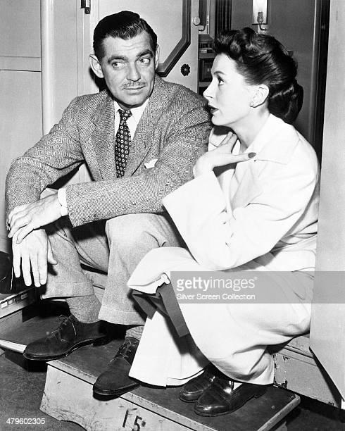American actor Clark Gable with Scottish actress Deborah Kerr circa 1947