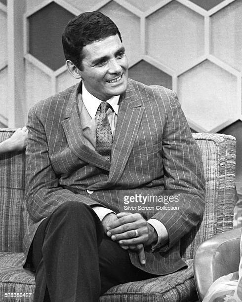 American actor David Hedison appearing on the 'The Merv Griffin Show' 28th September 1967