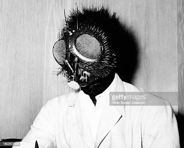 American actor David Hedison as Andre Delambre in 'The Fly' directed by Kurt Neumann 1958