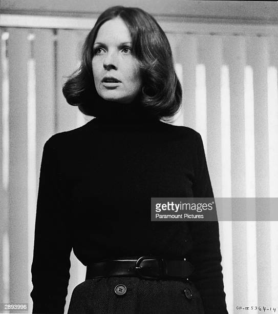 American actor Diane Keaton in a scene from 'The Godfather Part II' directed by Francis Ford Coppola 1974