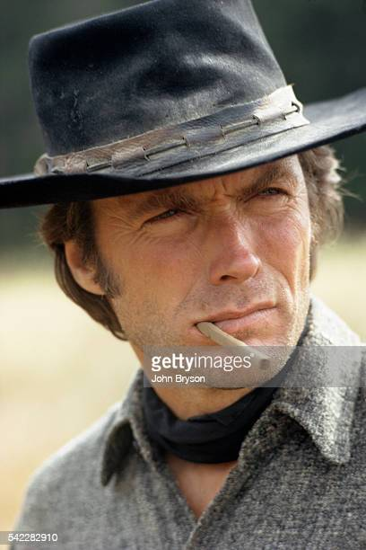 American actor director and producer Clint Eastwood
