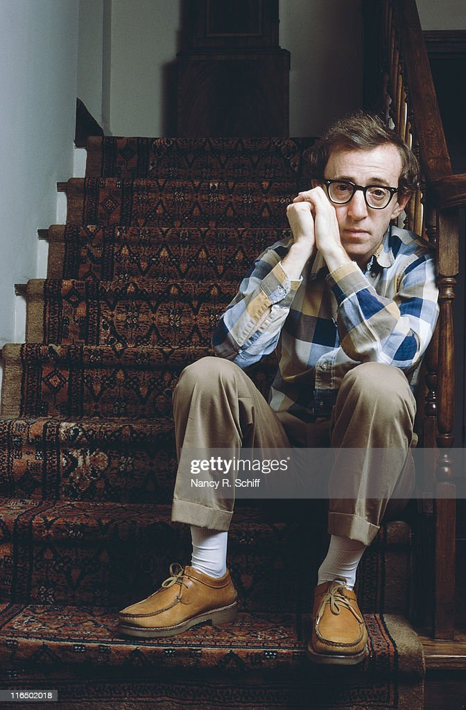 American actor, director and screenwriter Woody Allen, September 1980.
