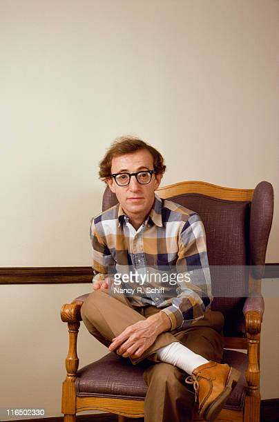 American actor director and screenwriter Woody Allen September 1980