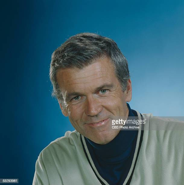American actor Don Murray of the CBS prime time soap opera 'Knot's Landing'