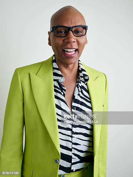 American actor drag queen model author television personality RuPaul poses for a portrait BBC America BAFTA Los Angeles TV Tea Party 2016 at the The...