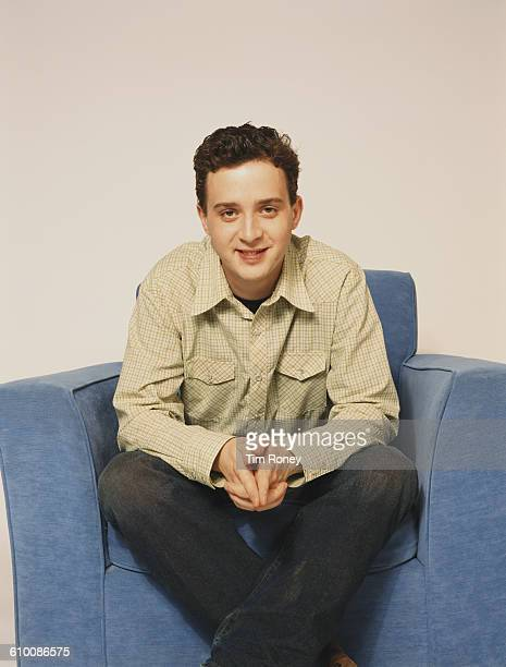 American actor Eddie Kaye Thomas circa 2000 He is best known for his role as Paul Finch in the 'American Pie' film series