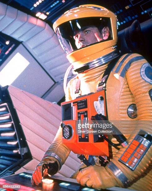 American actor Gary Lockwood as astronaut Frank Poole in the science fiction film '2001 A Space Odyssey' 1968