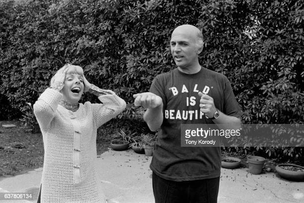 American actor Gavin MacLeod with his wife Patti