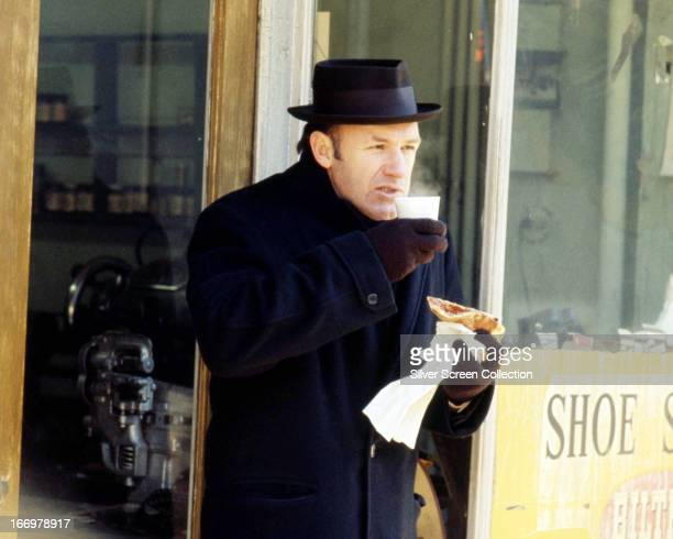 American actor Gene Hackman as Jimmy 'Popeye' Doyle in 'The French Connection' directed by William Friedkin 1971