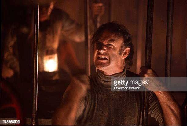 American actor Gene Hackman in a scene from the film 'The Poseidon Adventure' California 1972