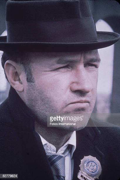 American actor Gene Hackman in a still from the film 'The French Connection' directed by William Friedkin 1971 The film won 5 Oscars including Best...