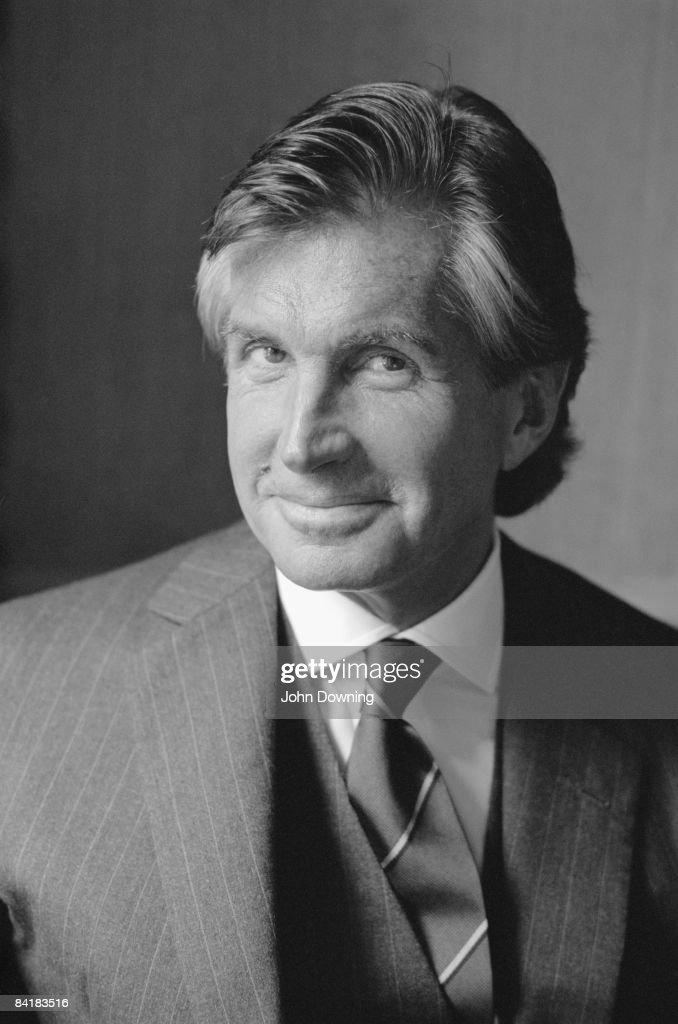 American actor George Hamilton, June 1988.