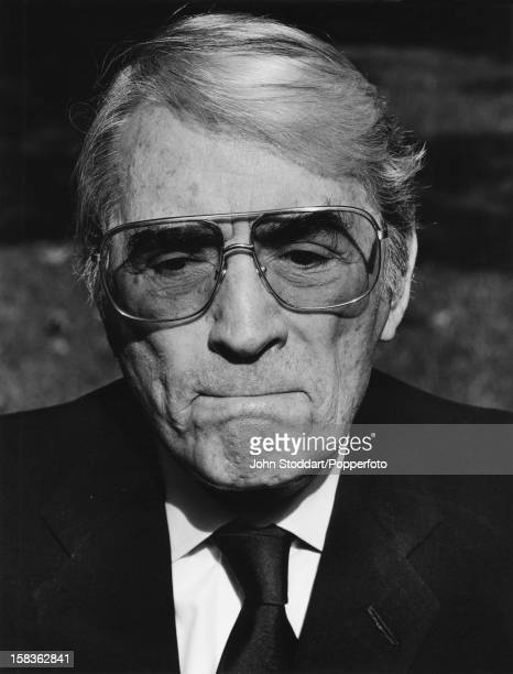 American actor Gregory Peck 1989