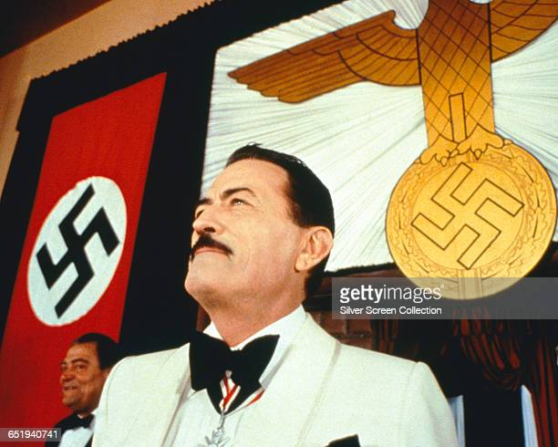 American actor Gregory Peck as Dr Josef Mengele in the thriller 'The Boys from Brazil' 1978