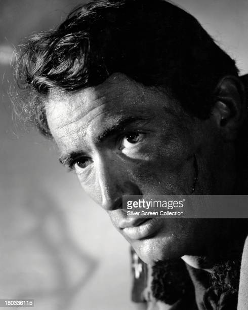 American actor Gregory Peck in a promotional portrait circa 1960