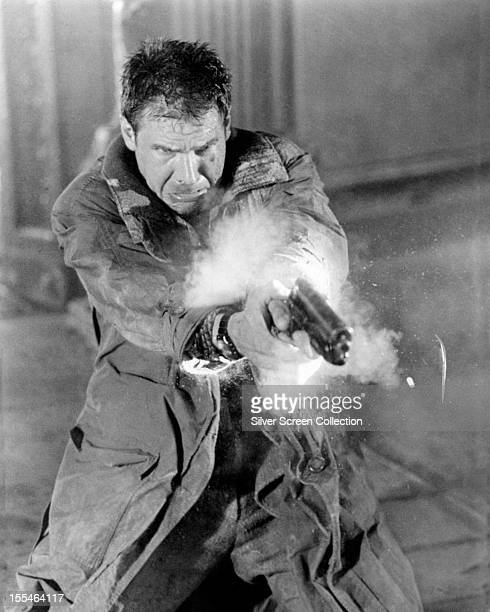 American actor Harrison Ford as Rick Deckard in 'Blade Runner' directed by Ridley Scott 1982