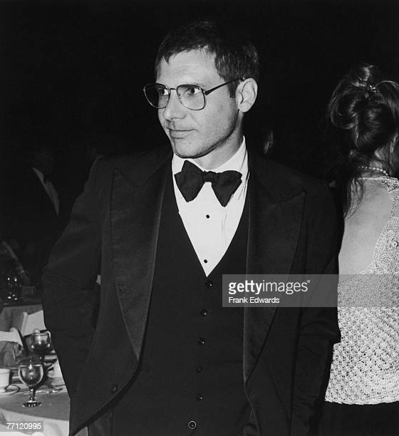 American actor Harrison Ford attends the opening of Filmex the Los Angeles Film Festival at the old Florentine Gardens in Hollywood April 1981